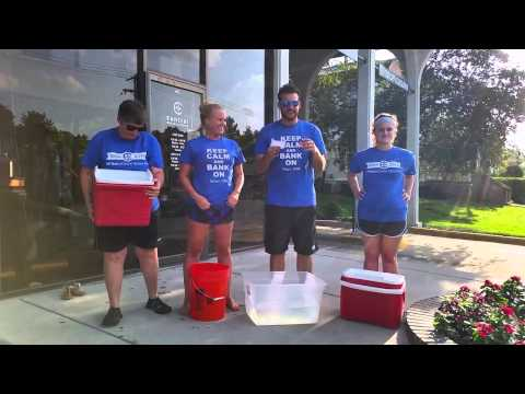 Central National Bank - Lawrence 9th St - ALS Ice Bucket Challenge!