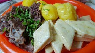 Аварский ХИНКАЛ, 👍цыганка готовит. Gipsy cuisine.😋