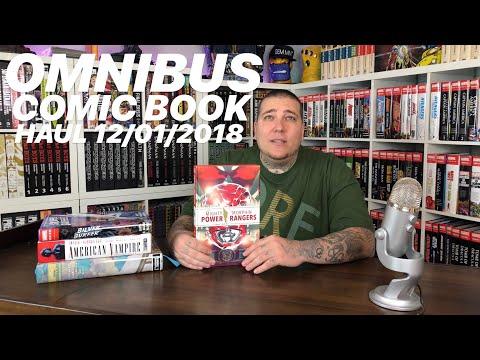 Omnibus COMIC BOOK Haul 12/01/18