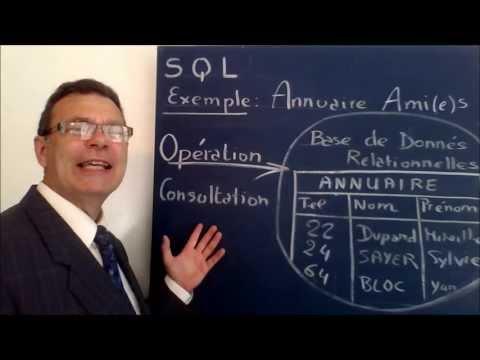 SQL 1 Tutoriel : Introduction et définition du Langage de Requêtes Structurées sur BDR