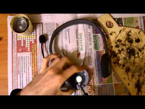 Ремонт наушников с микрофоном