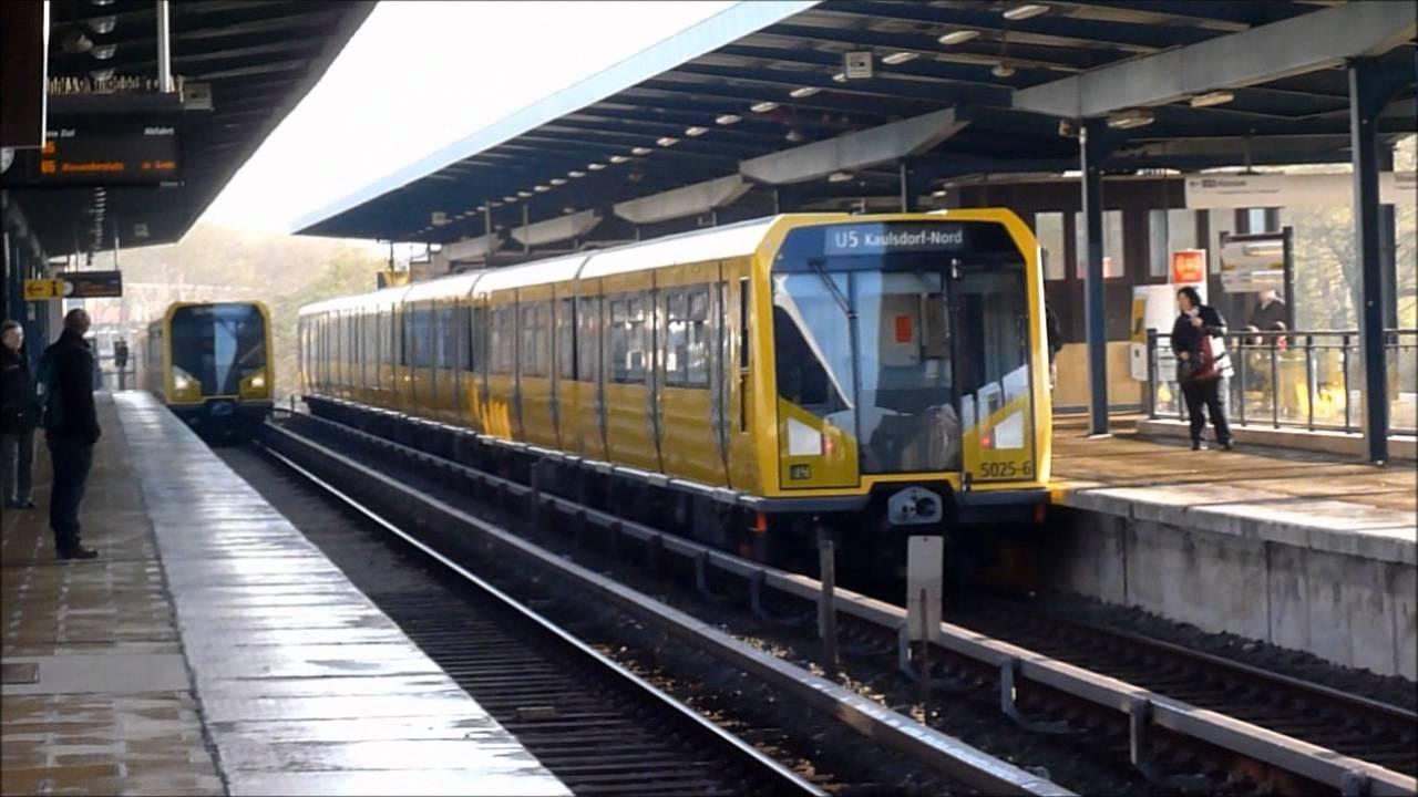U5 Bahnhof Wuhletal Mix H95 H97 H01 BVG U-Bahn Berlin [HD ...