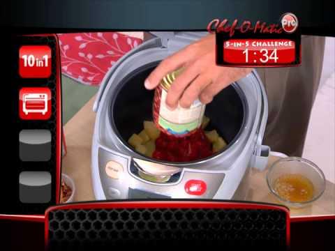 Chef o matic infomer youtube - Robot chef o matic pro ...