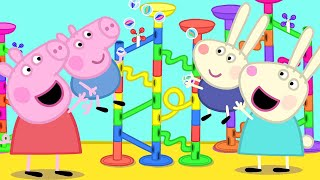 Peppa Pig Official Channel | The Biggest Marble Run Challenge