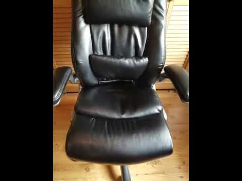 VIVA OFFICE High Back Bonded Leather Executive Chair   Viva0422L1    BizarkDeal
