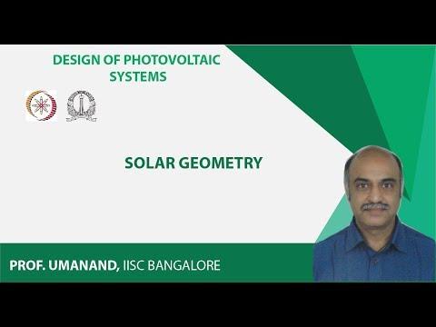 PV28: Solar geometry