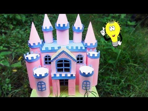 Cara Membuat Miniatur Rumah Princes Berbie Dari Kardus