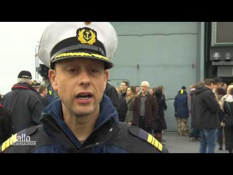 Wilhelmshaven: Emotionale Rückkehr der Bundeswehr-Fregatte - Heiratsantrag nach Flüchtlingsrettung