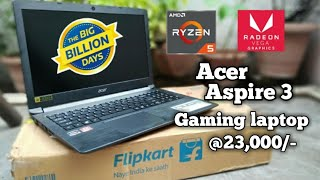 Acer Aspire 3 Ryzen 5 (A315-41-R95S) 4GB Ram/1TB HDD Unboxing And Full Review||Best laptop under 30K