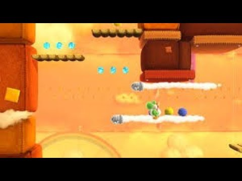 Best Level Design on the Wii U-Yoshi's Wooly World Addition
