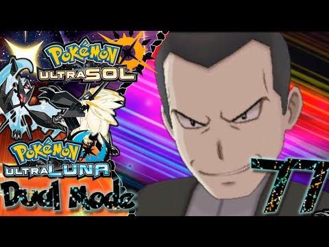Contra GIOVANNI!!   I #77 I Pokémon Ultra Sol y Ultra Luna [DUAL MODE] I Guia en español
