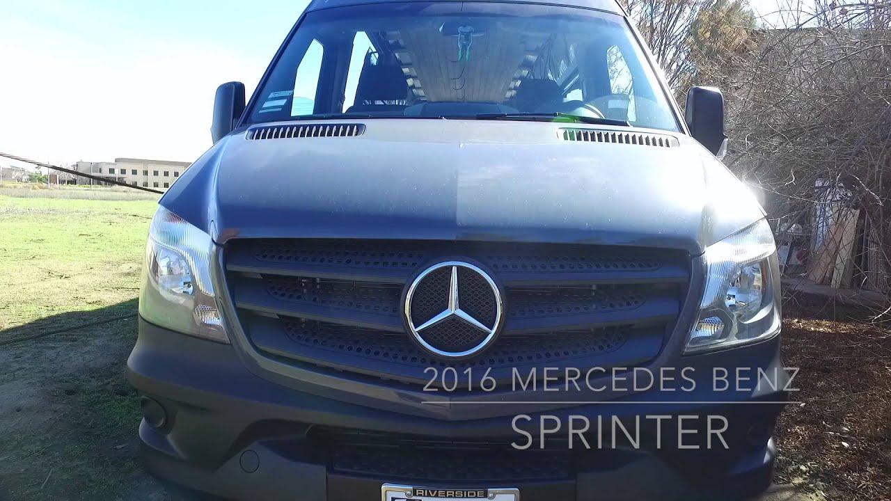 Mercedes Sprinter Van Build