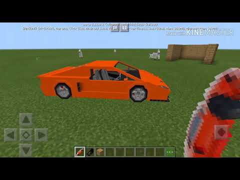 How To Install Sport Lamborghini Mod On Minecraft PE