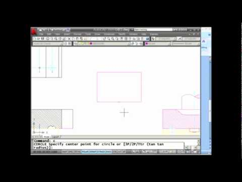 AutoCAD Tip -- Object Snap Tracking (Lynn Allen/Cadalyst Magazine)