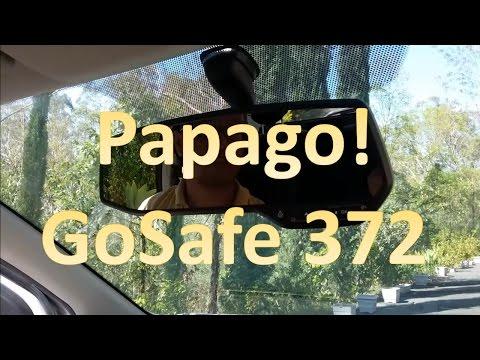 Papago GoSafe 372 Dash Cam Instructions / Tutorial / Review