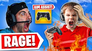 My Random Duo Attacks Me Over Aim Assist.. 😡 (Modern Warfare Warzone)