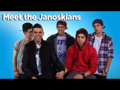 The Janoskians Awkward Interview Situation