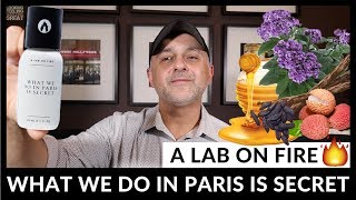 A Lab On Fire What We Do In Paris Is Secret Review + Full Bottle USA Giveaway