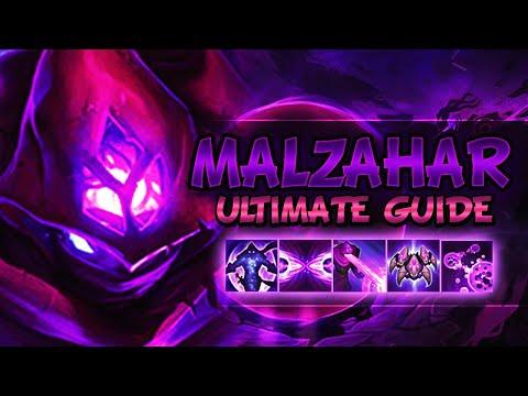MALZAHAR ULTIMATE GUIDE IN-DEPTH SEASON 10 | Best Combos, Best Builds, Best Tips - League Of Legends
