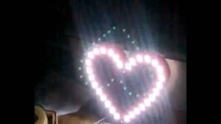 led trái tim tuyệt đẹp
