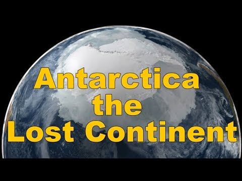 Antarctica the lost continent and mysterious relics found there