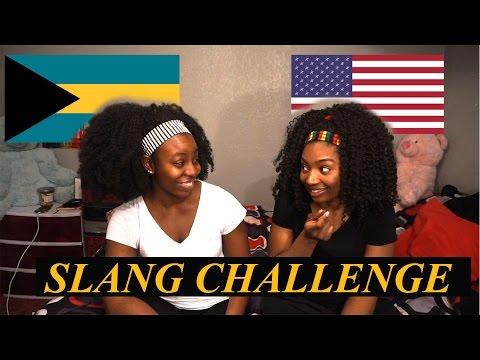 Bahamian vs American slang