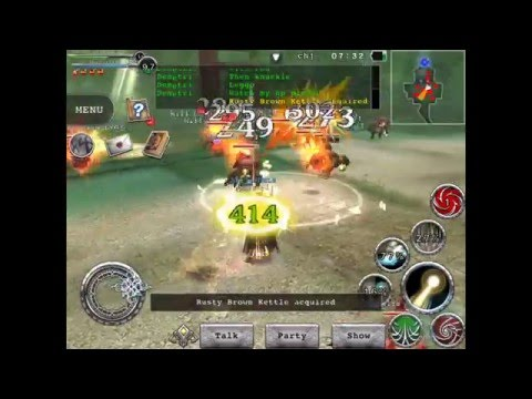 [RPG Avabel Online] Monk Auto Heal Passive With Rod