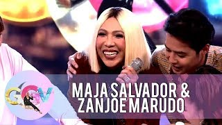 GGV: Maja Salvador asks Vice Ganda if he's in love with Calvin Abueva