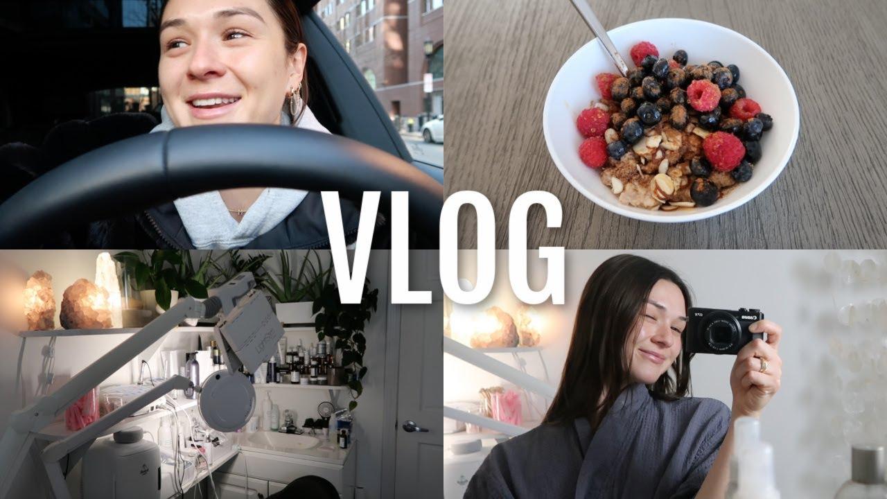 VLOG: getting a facial, relaxing morning at home, vlogmas?!
