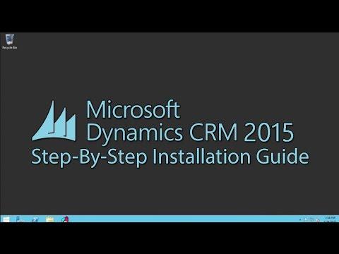 Microsoft Dynamics CRM 2015 Installation