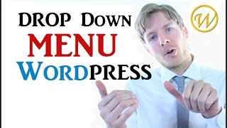 Horizontal WordPress Menu With Vertical Drop Down Menu