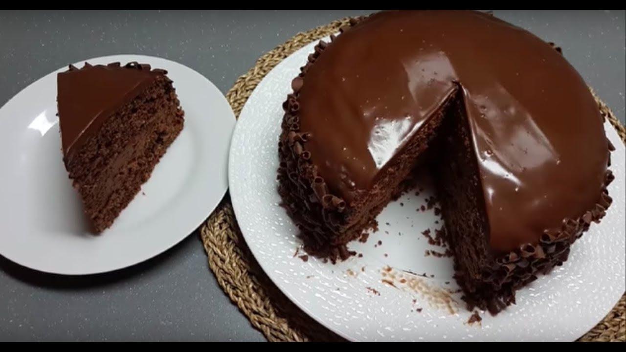 Gateau Tout Chocolat Tres Simplifiee Youtube