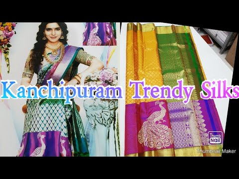 #127 Kanchipuram Handloom Silk Sarees #2g Pure Zari Sarees @J.Anusha Latest Fashions from YouTube · Duration:  5 minutes 52 seconds