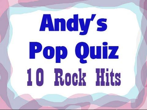 Pop Quiz No10 - 10 Rock Classics