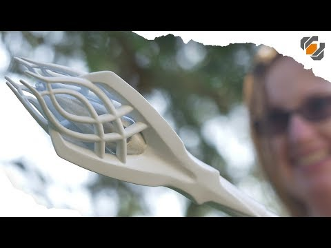 HOW TO 3D Print A Collapsible Gandalf Staff