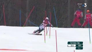 Jeux Paralympiques - Ski Alpin Slalom femmes : Marie Bochet médaille d'or paralympique !