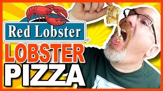 Red Lobster ♥ Signature Lobster Pizza Review | KBDProductionsTV