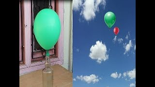 How to Make flying Balloon at home With Powder Drain Cleaner & without Helium