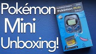 Unboxing a Pokémon Mini!