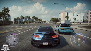 Need for Speed Heat - K.S Edition Mercedes-AMG C63 AMG Coupe Gameplay