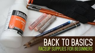 Faceup Supplies for Beginners - Back to Basics ep 05