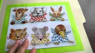 Toddler - Social Studies/Science file folder game: