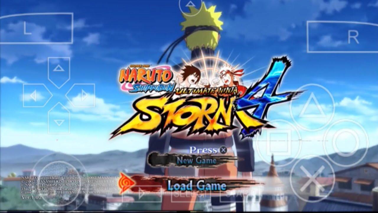 Hướng Dẫn Tải Game Naruto Storm 4 Trên Điện Thoại Androi (NSUNI) Mod PPSSPP Link Download