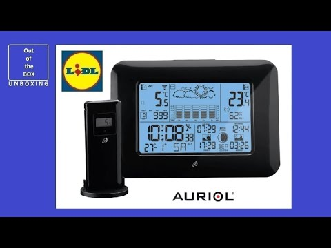 Auriol Temperature Station With External Sensor And Rad