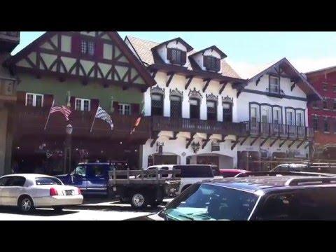 Leavenworth. Beautiful Bavarian Village in Washington State, USA