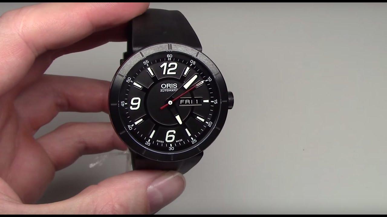 Oris Tt1 Day Date Automatic Men S Watch Review Model 735