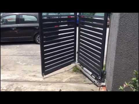 Trackless Folding Gates Malaysia | Autogate Malaysia Promotion on