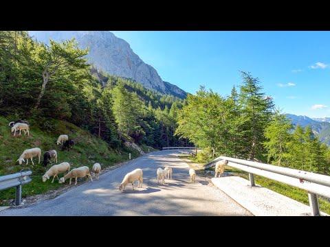 Driving the Wurzen pass, Vršič pass & Mangart Saddle, Austria, Slovenia & Italy