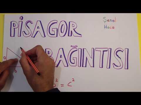 Pisagor bağıntısı - Teog Şenol Hoca Matematik