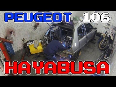 Peugeot 106 Hayabusa – Time Lapse da construção by Oficina MK